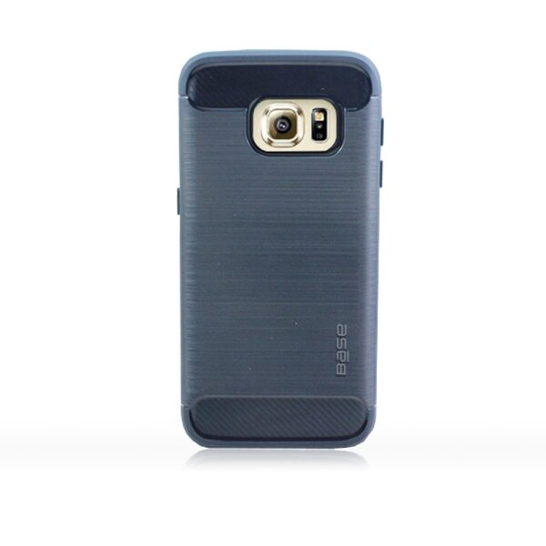 Base ProSlim - Sleek Brushed Protective Case for Samsung Galaxy S7 - Navy Blue