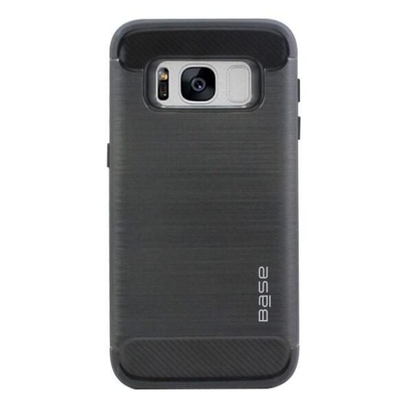 Base ProSlim - Sleek Brushed Protective Case for Samsung Galaxy S8 - Black