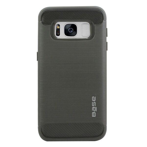 Base ProSlim - Sleek Brushed Protective Case for Samsung Galaxy S8 - Grey