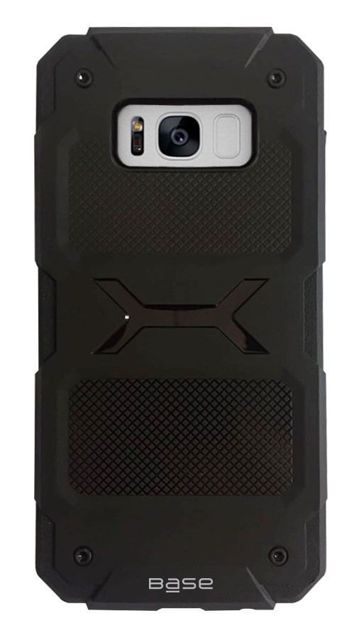 Base ProTech - Rugged Armor Protective Case for Samsung Galaxy S8 - Black