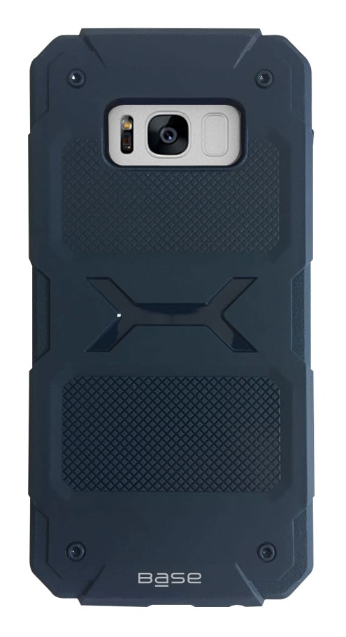 Base ProTech - Rugged Armor Protective Case for Samsung Galaxy S8 - Blue