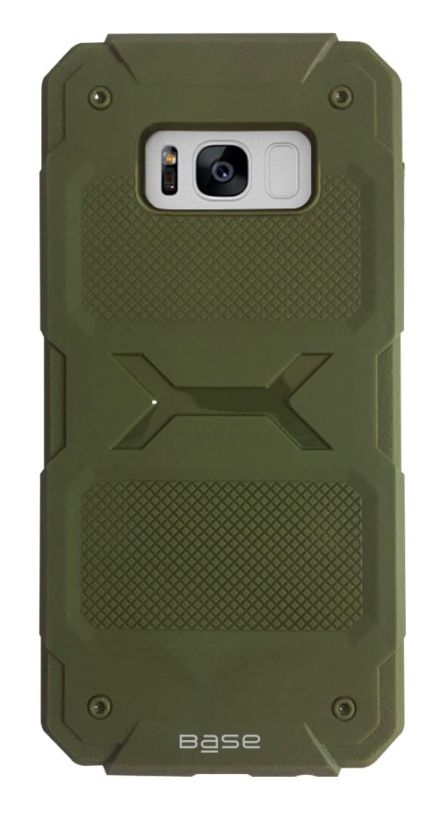 Base ProTech - Rugged Armor Protective Case for Samsung Galaxy S8 - Green