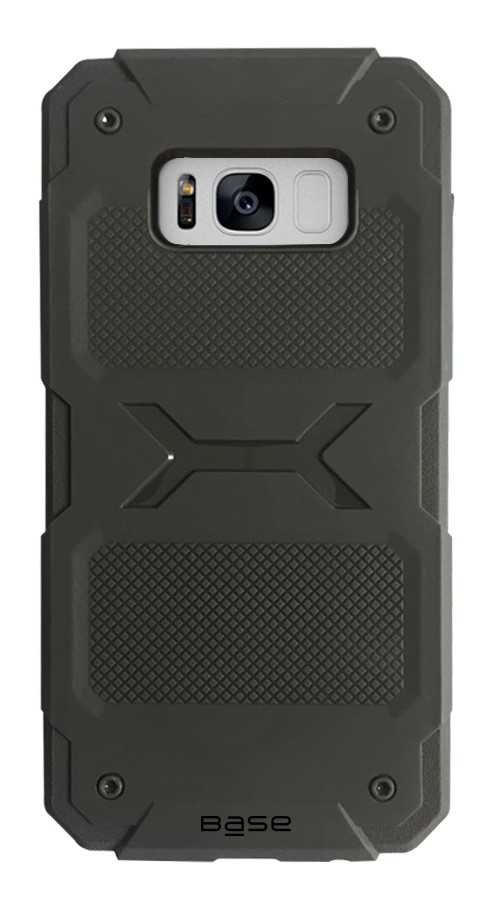 Base ProTech - Rugged Armor Protective Case for Samsung Galaxy S8 - Grey