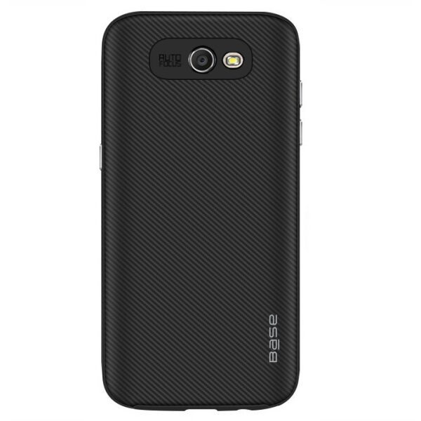 Base DuraSlim Fiber - Protective Case with Reinforced Bumper for Samsung Galaxy J7 - Black
