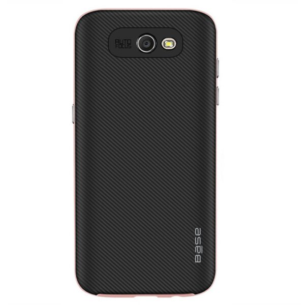 Base DuraSlim Fiber - Protective Case with Reinforced Bumper for Samsung Galaxy J7 - Rose Gold