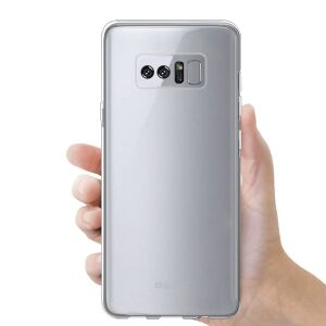 Base b-Air - Crystal Clear Slim Protective Case for Samsung Galaxy Note 8