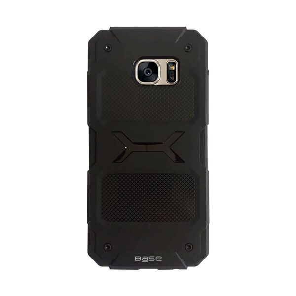Base ProTech - Rugged Armor Protective Case for Samsung Galaxy S7 Edge - Black