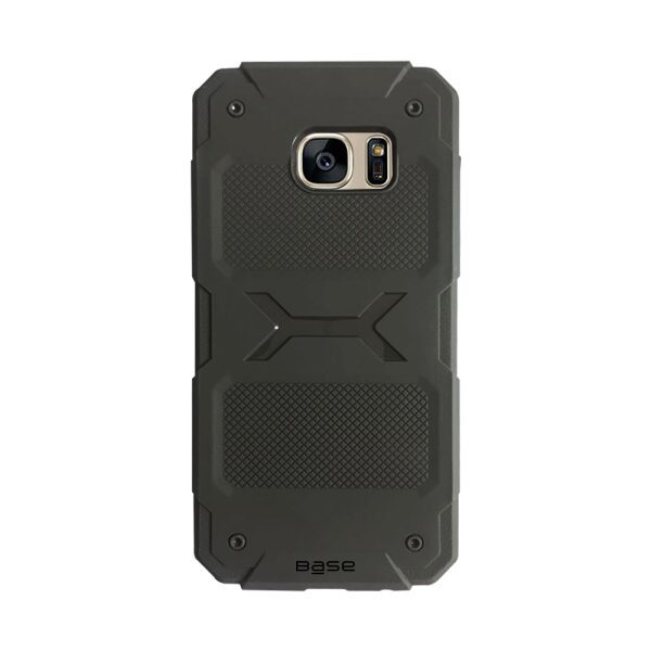 Base ProTech - Rugged Armor Protective Case for Samsung Galaxy S7 Edge - Grey