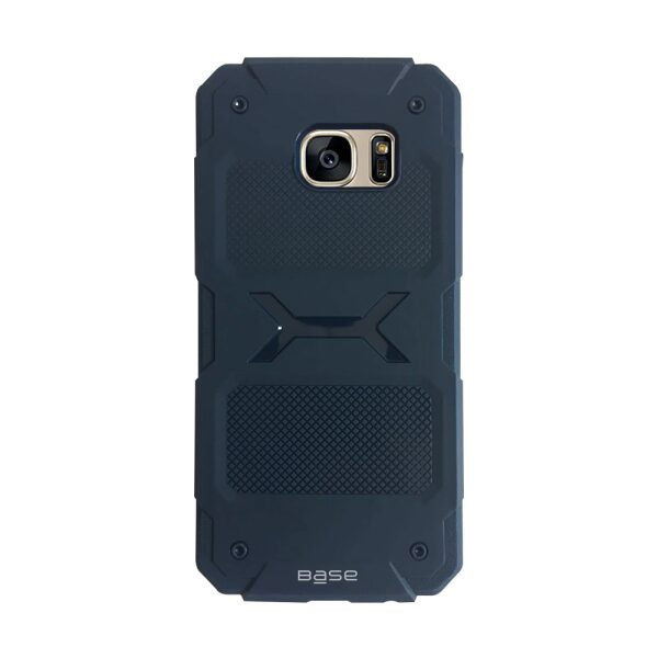 Base ProTech - Rugged Armor Protective Case for Samsung Galaxy S7 Edge - Blue