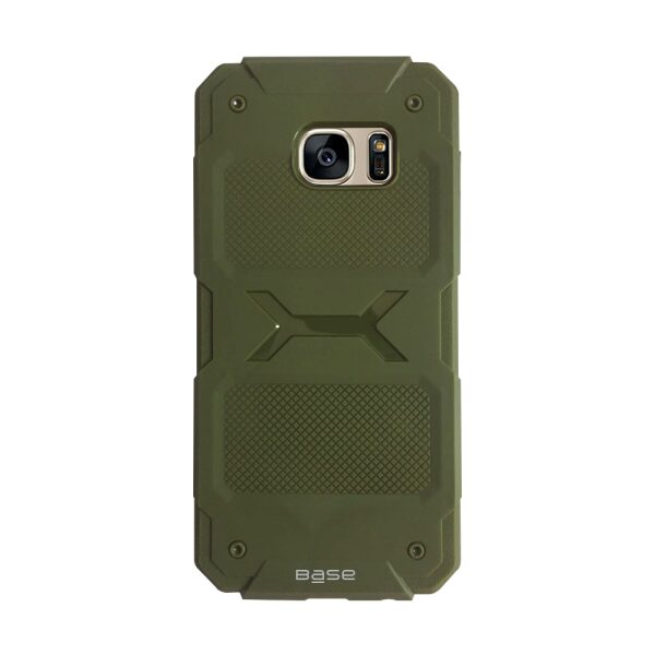 Base ProTech - Rugged Armor Protective Case for Samsung Galaxy S7 Edge - Green