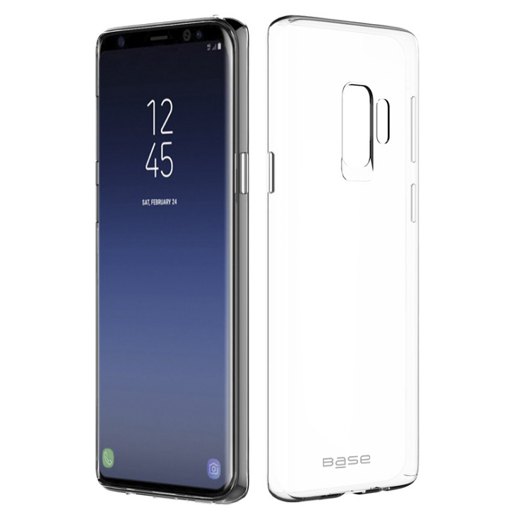 Base b-Air - Crystal Clear Slim Protective Case for Samsung Galaxy S9 Plus