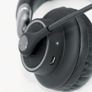 USG - Viper Wireless Bluetooth Trucker / Office  Headset - Black