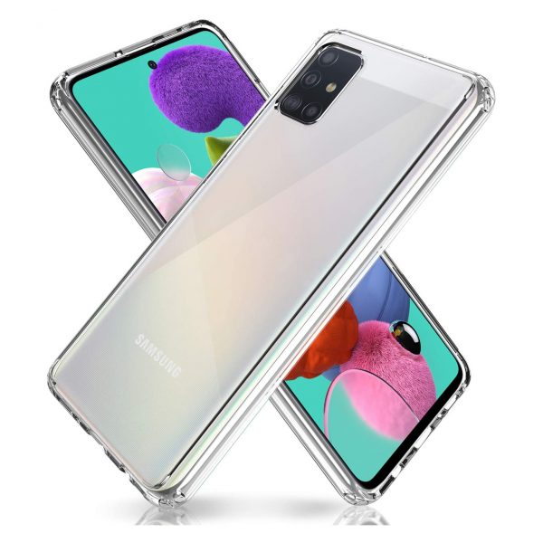 Base B-Air - Samsung A51 - Crystal Clear Slim Protective Case