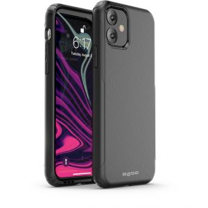 Base  IPhone 11 (6.1)  -ProTech Rugged Armor Protective Case - Black