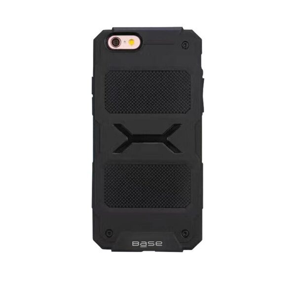 Base ProTech - Rugged Armor Protective Case for iPhone 6 Plus - Black - BULK