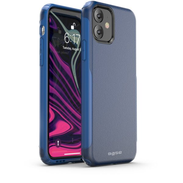 Base  IPhone 11 (6.1) -ProTech Rugged Armor Protective Case - Blue