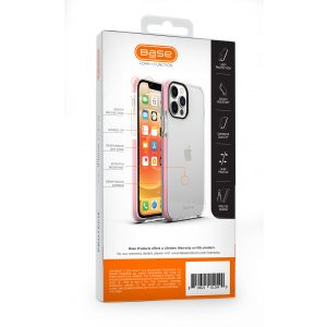 iPhone 12 Mini (5.4) - BORDERLINE Dual Border Impact protection - Gray