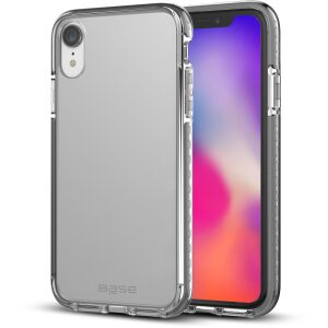 Base BORDERLINE - Dual Border Impact protection For iPhone XR - BLACK