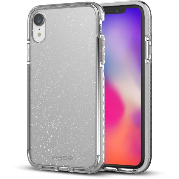 Base BORDERLINE - Dual Border Impact protection For iPhone XR - SILVER