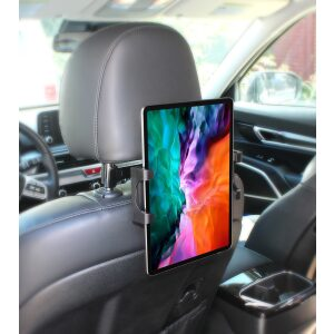 "PowerPeak ProMount Car Headrest for Tablets {5.25"" to 12"" Inch}"