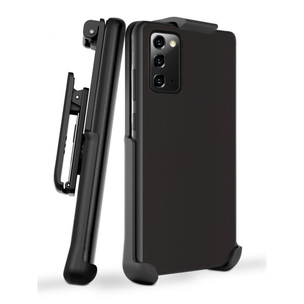 Base DuoHybrid - Reinforced Protective Case and Holster for Samsung Note20 - Black