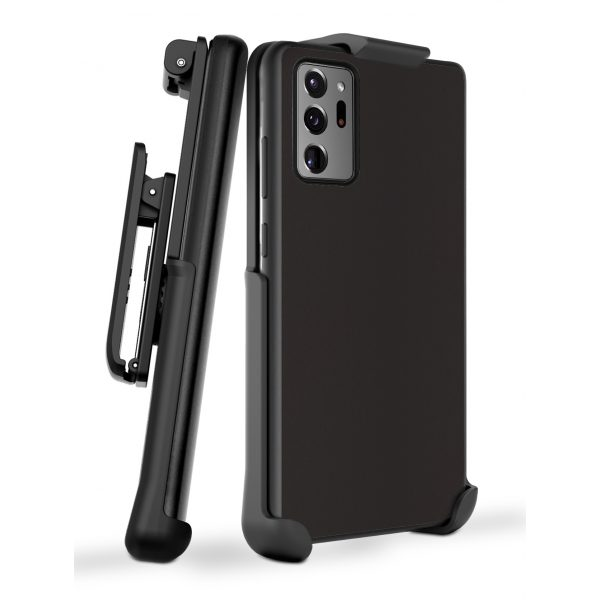 Base DuoHybrid - Reinforced Protective Case and Holster for Samsung Note20 Ultra  - Black