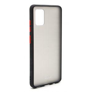 Base Samsung A51 - DuoHybrid Reinforced  Protective Case - Black