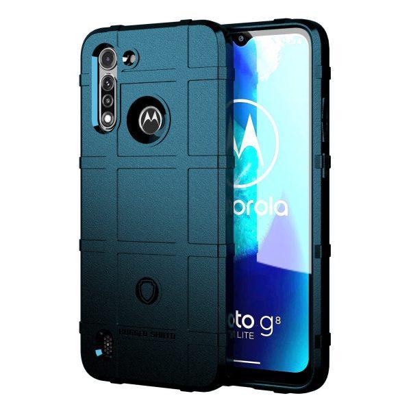 Base Motorola Moto G Power 2020 Armor Tech Case - Blue