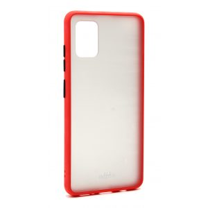 Base Samsung A51 - DuoHybrid Reinforced  Protective Case - Red