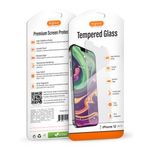 BASE PREMIUM TEMPERED GLASS SCREEN PROTECTOR FOR iPhone 12 Pro Max (6.7)