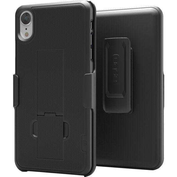 BASE Holster Shell Combo With Kickstand For iPhone XR