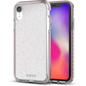 Base BORDERLINE - Dual Border Impact protection For iPhone XR - PINK