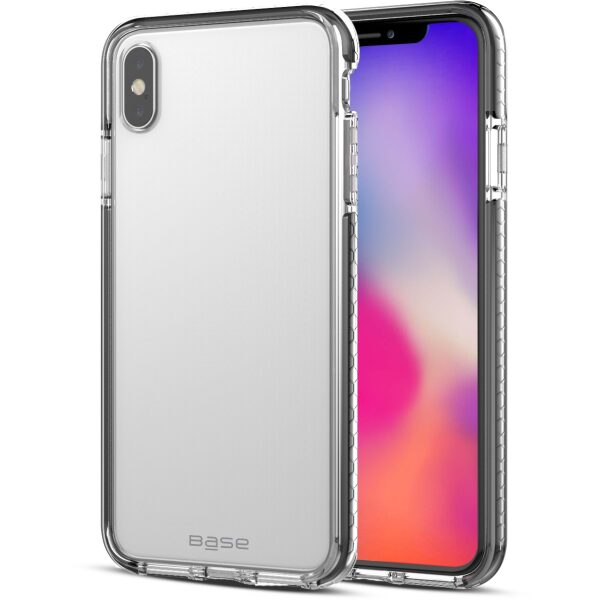 Base BORDERLINE - DUAL BORDER IMPACT PROTECTION FOR iPhone X Max - BLACK