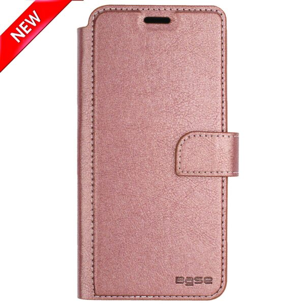 Base Folio Wallet Case iPhone X Max - Rose