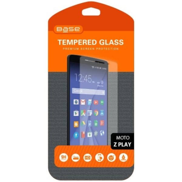 Base Premium Tempered Glass Screen Protector for Moto Z Play
