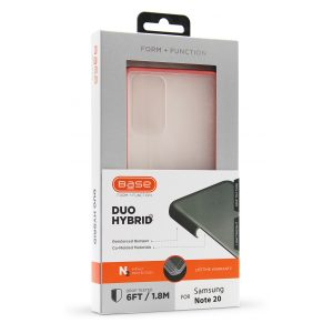 Base DuoHybrid - Reinforced Protective Case for Samsung Note 20 - Coral