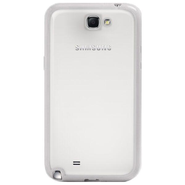 Base Samsung Note 2 / N7100 Premium Bumper Back - White