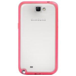 Base Samsung Note 2 / N7100 Premium Bumper Back - Pink-
