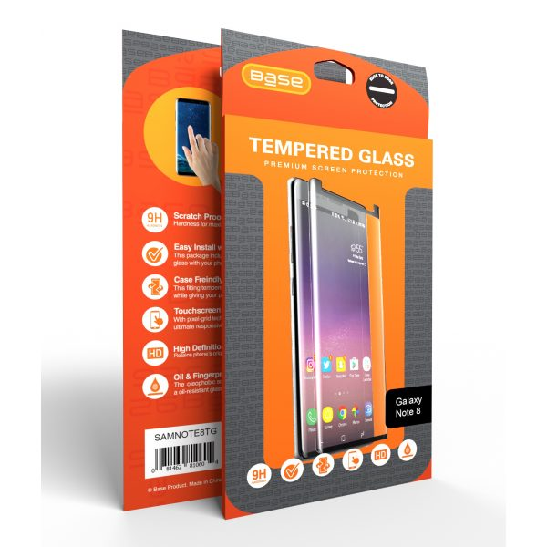 Base Tempered Glass Screen Protector for Galaxy Note 8