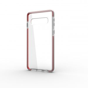 Base BorderLine - Dual Border Impact Protection for Samsung Galaxy S10 Plus - Red