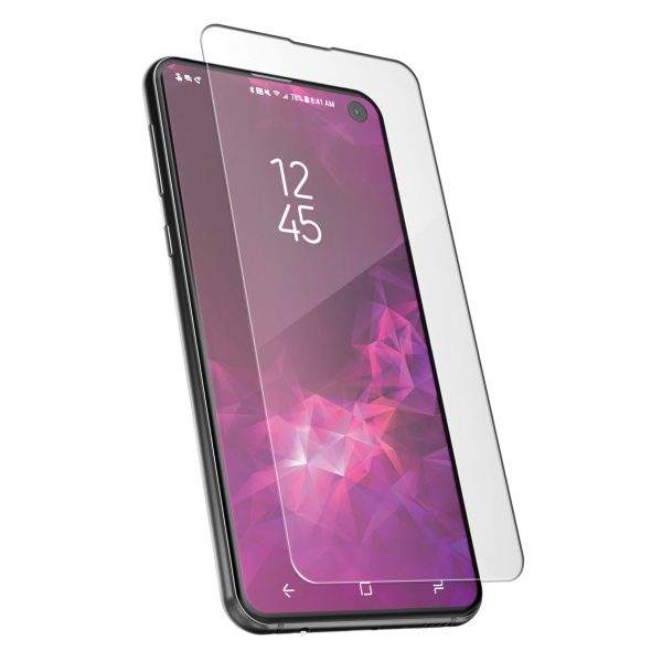 Base Tempered Glass Screen Protector for Galaxy S10e {Full Glue}