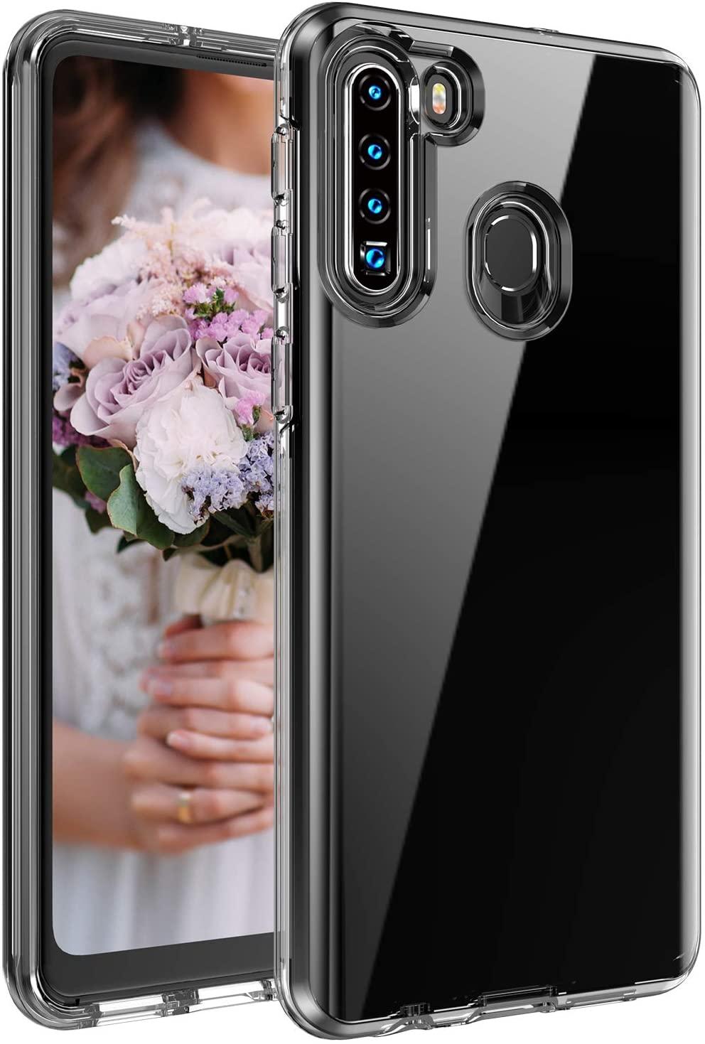 Base B-Air - Samsung A21 - Crystal Clear Slim Protective Case