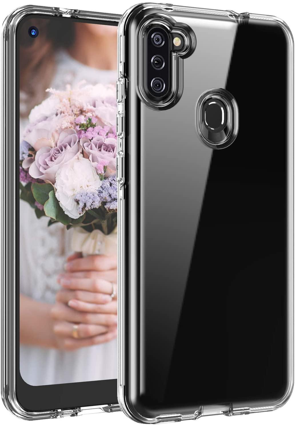 Base B-Air - Samsung A11 - Crystal Clear Slim Protective Case