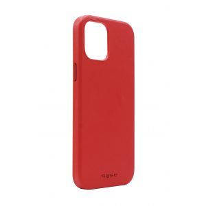 Base MagSafe Compatible Vegan Leather Case For iPhone 12 / iPhone 12 PRO (6.1) - Red