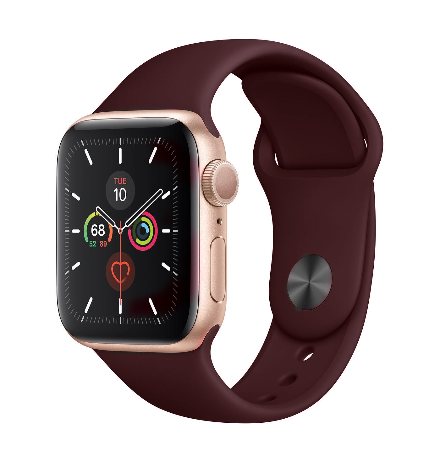 Base Apple Watch Silicone Bands  - Small (38/40mm) - Wine Red