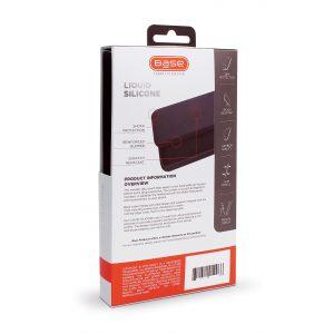 Base Liquid Silicone Gel/Rubber Case Samsung Galaxy S21Ultra - Black