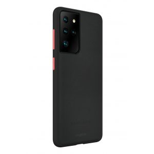 Base Samsung S21 Ultra - DuoHybrid Reinforced  Protective Case - Black