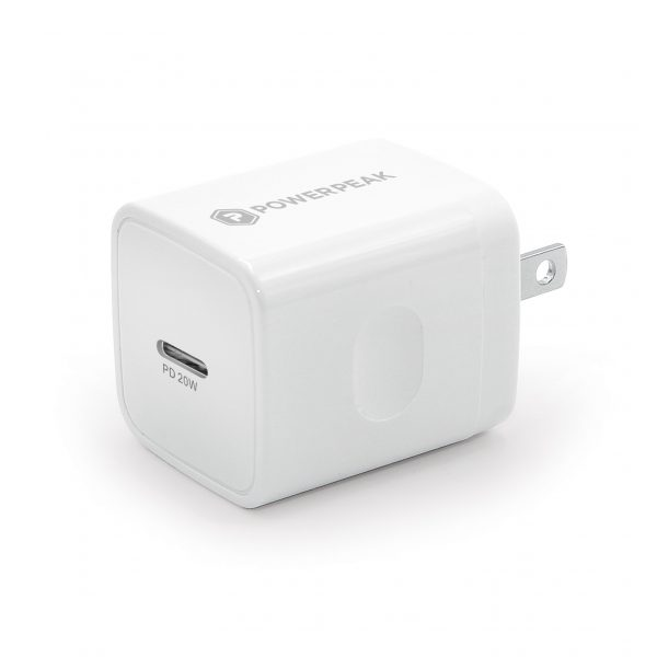 Powerpeak 20W USB-C Power Adapter PD