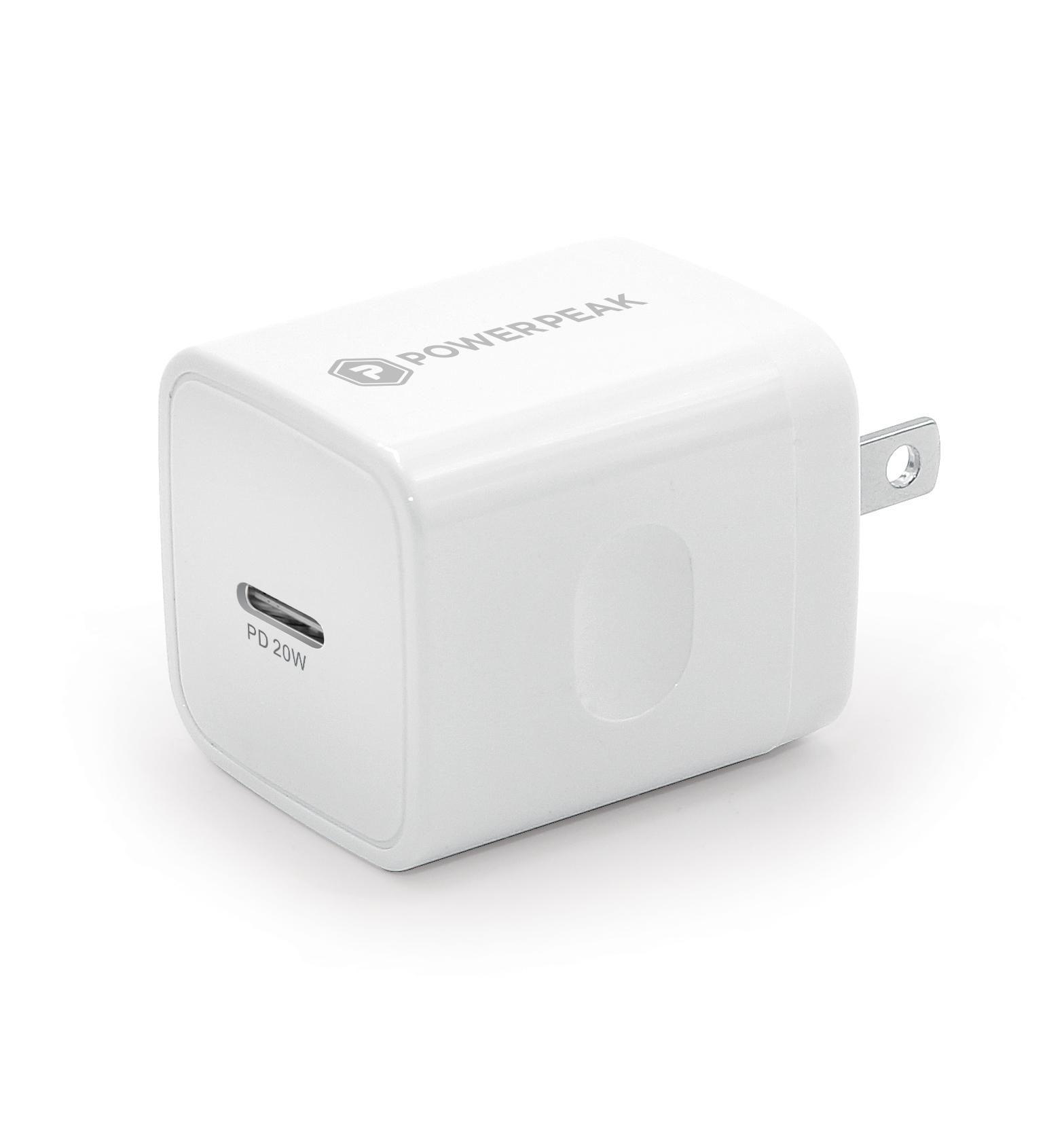 Powerpeak 20W USB-C Power Adapter PD