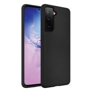 Base Liquid Silicone Gel/Rubber Case Samsung Galaxy S21PLUS - Black